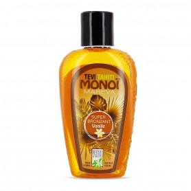 Monoi Super bronzant Tevi Tahiti vanille 120ml