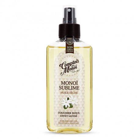 Monoï sublime huile sèche Comptoir des Monoï Tiaré 100ml