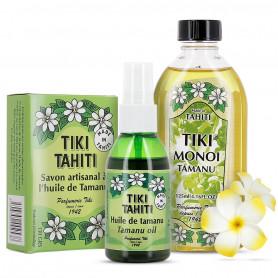 Pack Coffret Tamanu Tiki tahiti