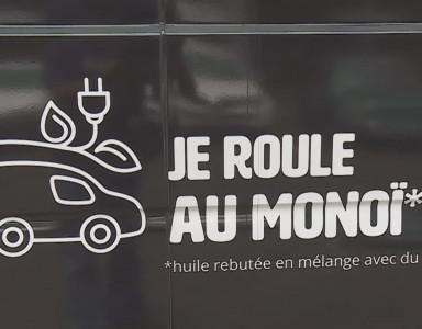 Une entreprise recycle du monoï pour remplacer le carburant de leur camion